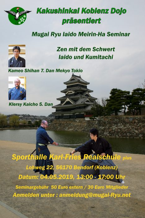 Seminar japanischer Schwertkampf